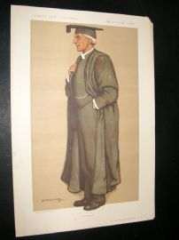 Vanity Fair Print 1912 Reverend Lionel Ford